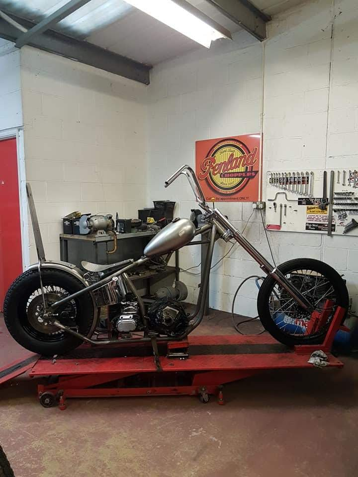 Harley Big Twin Chopper Frame dec 2019 (11)